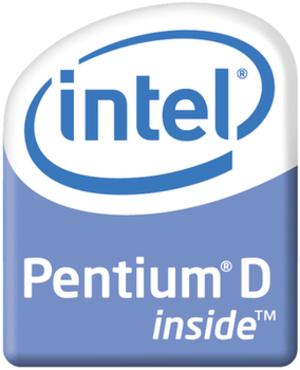 Pentium D logo as of 2006