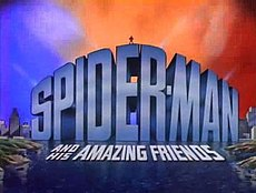Spider Man and his amazing friends