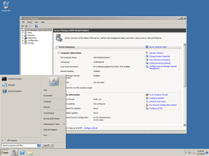 UPGRADING ACTIVE DIRECTORY TO WINDOWS 2008 R2 ADDS DOMAIN (1/2)