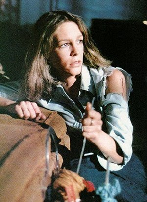 Jamie Lee Curtis, in her feature film debut, p...