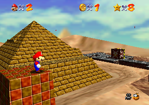 Super Mario 64 replaced the linear obstacle co...