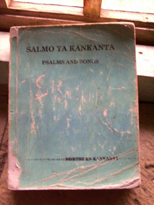 Cover of the Kankana-ey Hymnal.