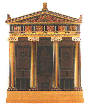 Hittorff's reconstruction of Temple B at Selin...
