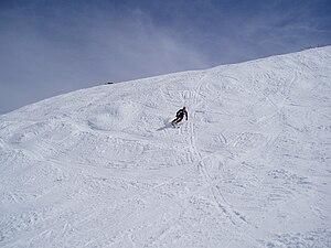 Skiing at Merrits