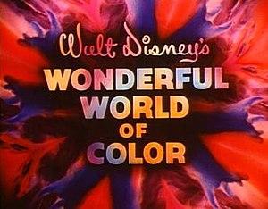 Walt Disney's Wonderful World of Color title s...