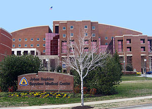 Front of Johns Hopkins Bayview Medical Center