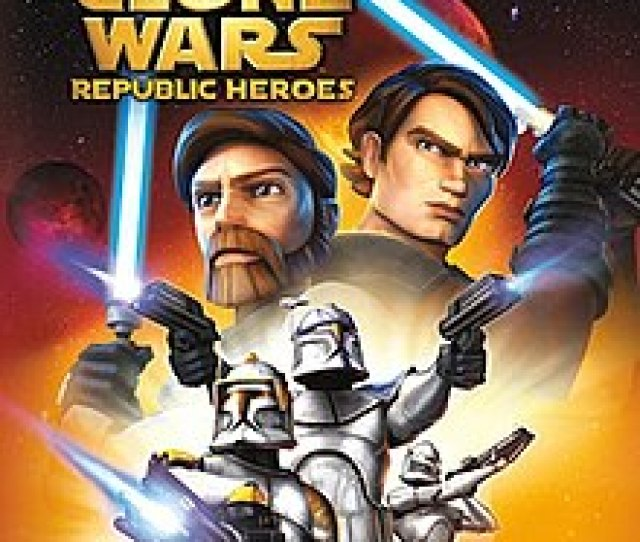 Star Wars The Clone Wars Republic Heroes Jpg