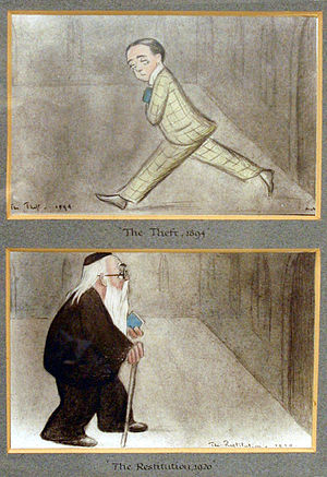 "Two of Beerbohm's self-portraits. ""The Th..."