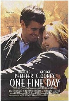 Image result for pfeiffer and clooney in one fine day