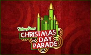 The official logo for the Disney Parks Christm...