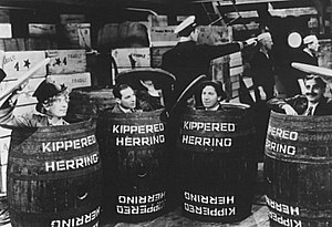 The four Marx Brothers stowing away on an ocea...