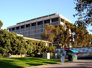 Davidson Library at UCSB.