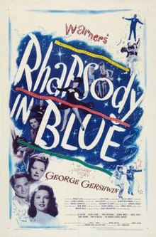 Poster of Rhapsody in Blue (film).jpg