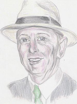 Portrait of Geoffrey Boycott.