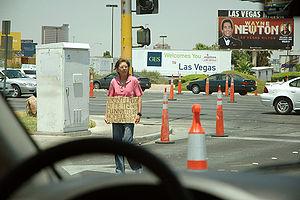 Vegas homeless