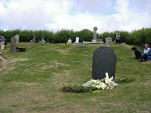 John Betjeman's gravestone