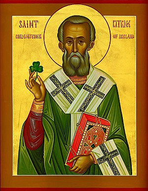 Icon of Saint Patrick