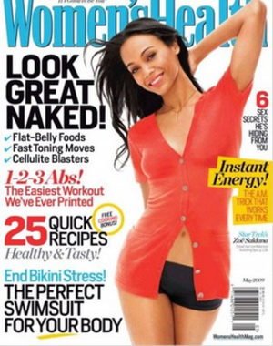 Women's Health magazine, May 2009 issue