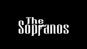 The Sopranos title screen.