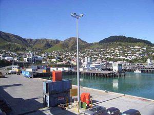 Lyttelton port in 2004.