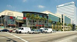 The rebuilt Sherman Oaks Galleria, opened in 2002