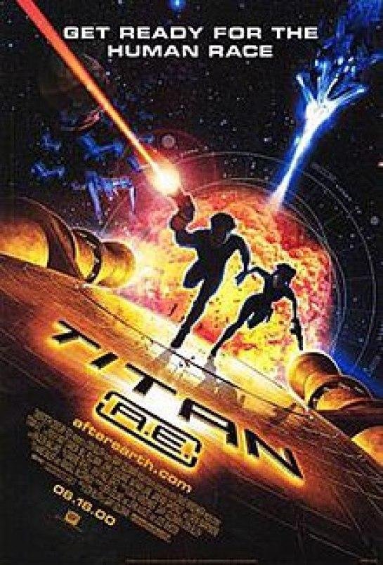 Image result for titan ae film poster