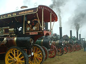 Rally steam engines