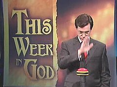 Colbert activating the God Machine
