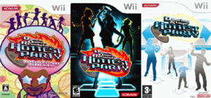 Dance Dance Revolution Hottest Party all cover art