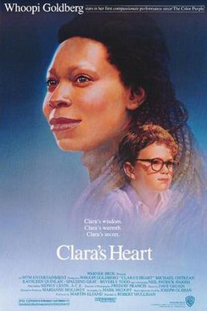 Film poster for Clara's Heart - Copyright 1988...
