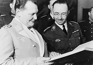 Heinrich Himmler and Hermann Göring
