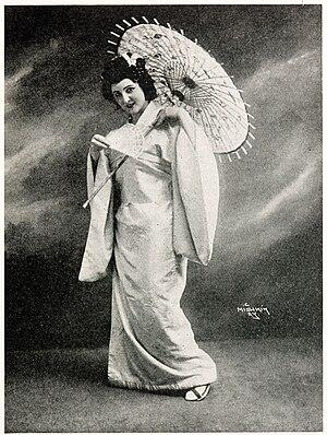 Florence Easton as Cio-Cio-San in Madama Butte...