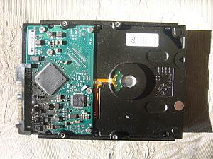 Computer hard drive catastrophic damage