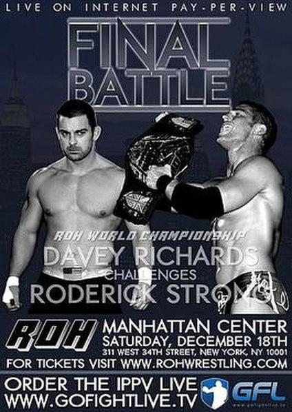 ROH Final Battle 2010