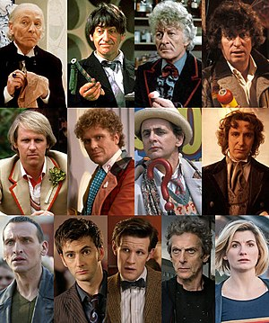 The Doctor has changed appearance ten distinct...