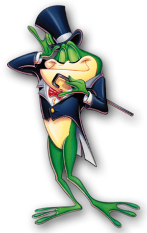Michigan J. Frog, as seen on The WB