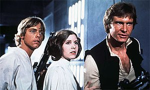 The three lead protagonists of Star Wars, from...