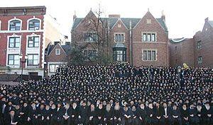 Group photo of Chabad-Lubavitch Shluchim (emis...