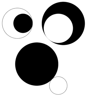 Circles that are tangent to each other