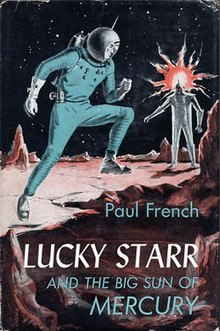 Image result for lucky starr and the big sun of mercury