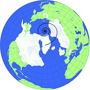 The ice cover of the Last Glacial Maximum, abo...