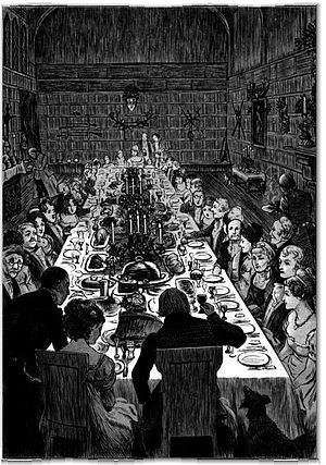 "Illustration of ""The Christmas Dinner&quo..."