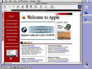 Mac OS 8.1 desktop