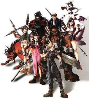 Tetsuya Nomura's designs of the main playable ...