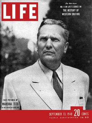 LIFE magazine cover of 12 September 1948 (feat...