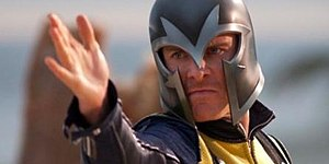 "Fassbender as ""Magneto"" in X-Men: Fi..."