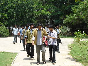 Students at our campus