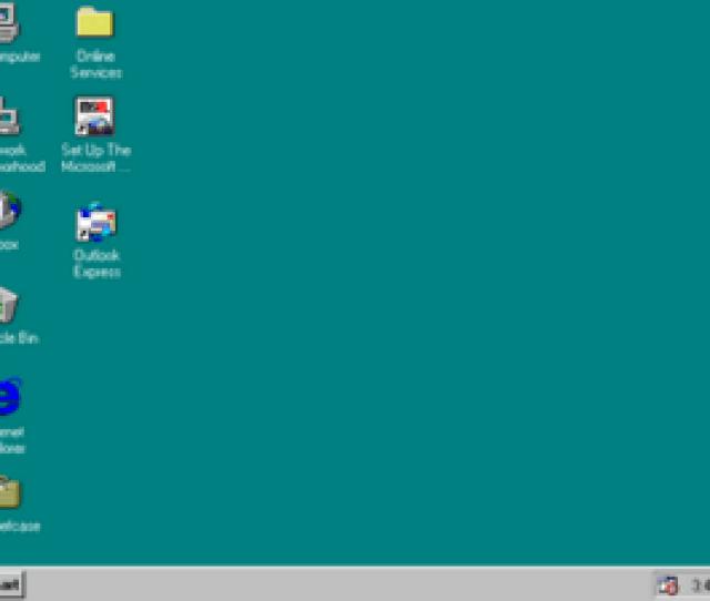Windows 95 Desktop Screenshot Png