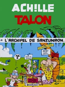 Cover of L'Archipel de Sanzunron (The Notapenny Archipelago)