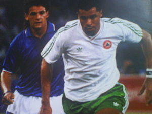 Paul McGrath v Italy
